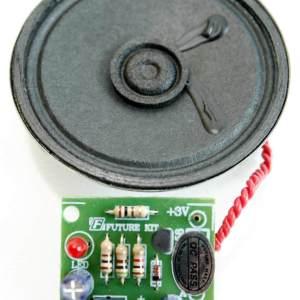 פעמון לדלת 2 צלילים ערכת אלקטרוניקה לתלמיד