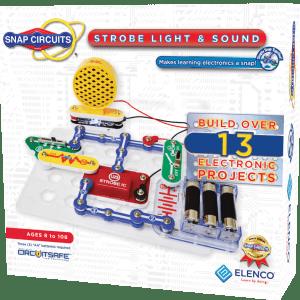 ערכת אלקטרוניקה מעגל חשמלי 14 פרוייקטים הרכבה אורות וצלילים מבית Elanco