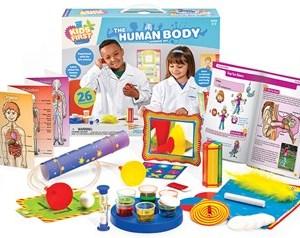 ערכת מדע לילדים גוף האדם Tames & kosmos