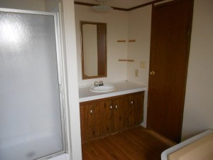 master bath of house for rent