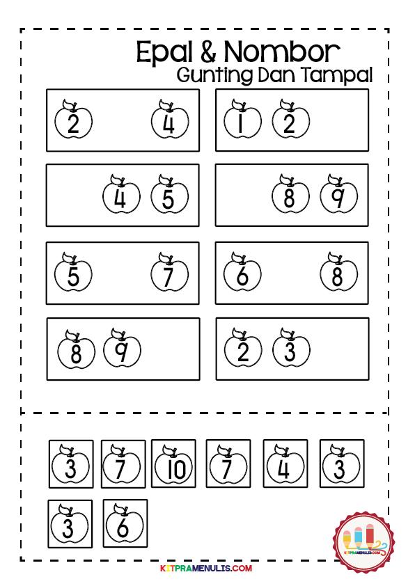 buku-aktiviti-matematik-mengira-1-hingga-10-01 Lembaran Kerja Matematik Pendidikan Khas | Saya Pandai Urutan Nombor