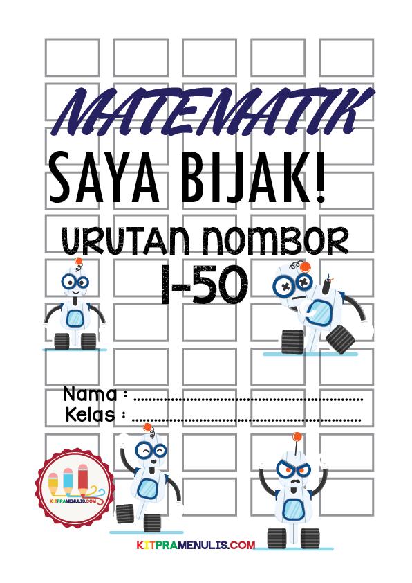 latihan-urutan-nombor-1-hingga-50-01 Latihan Matematik Prasekolah Urutan Nombor 1 Hingga 50