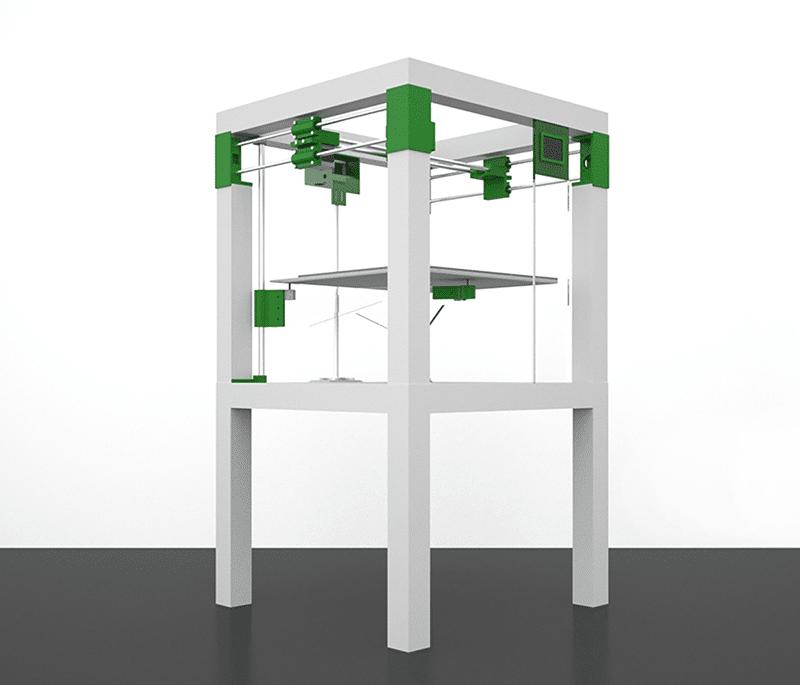 kit imprimante 3d pas cher et grand volume kits imprimantes 3d. Black Bedroom Furniture Sets. Home Design Ideas