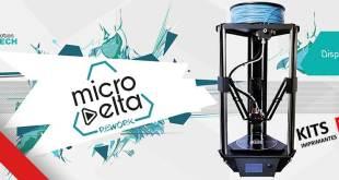 Test Imprimante 3d MicroDelta Rework