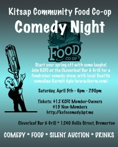 Comedy Night Fundraiser poster