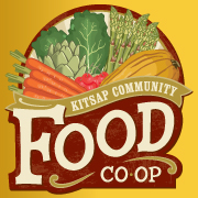 Kitsap Community Food Co-op Logo with yellow background