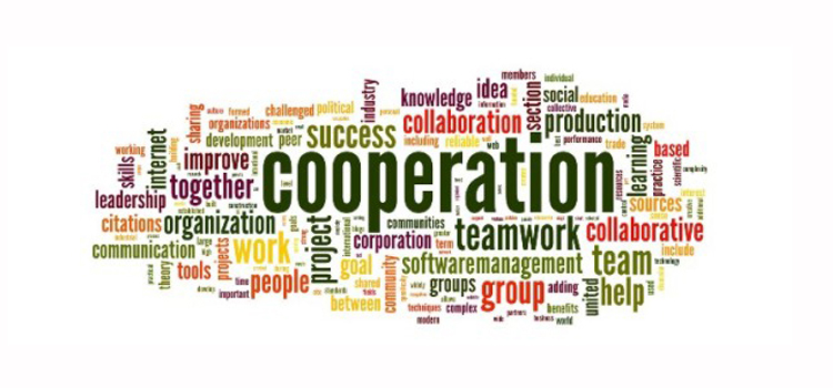 cooperation collage image