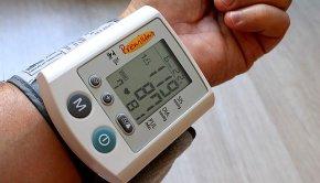 medical equipment on wrist