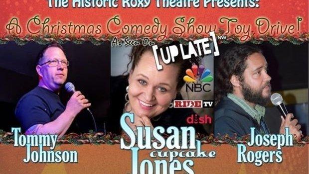 Comedy Toy Drive at Roxy Theatre Bremerton WA