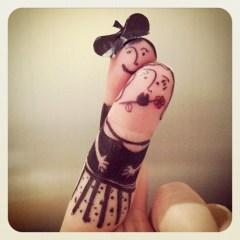 Flamenco fingers