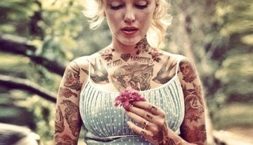 Imagine if these Hot Ladies really did display these tattoos?