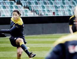 Finding 'Out' footballers at the World Cup maybe a challenge, but not in Women's Football