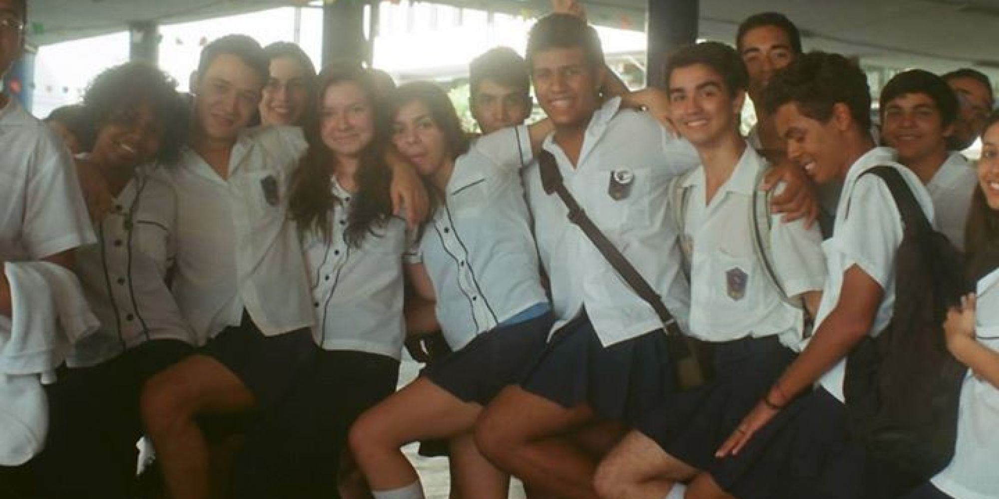 Boys Wear Skirts to School in Protest After Trans Classmate Is Fined for Doing the Same – #VouDeSaia