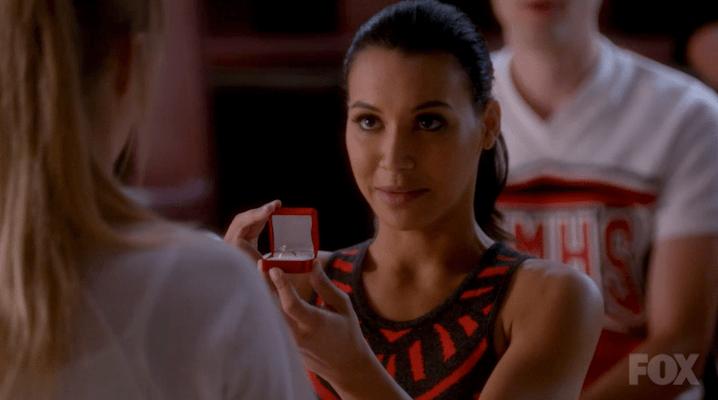 Santana og Brittany Start Dating