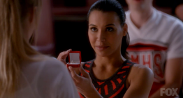 Our First TV 'Awww' Moment of 2015 as Glee's Brittany and Santana Get Engaged