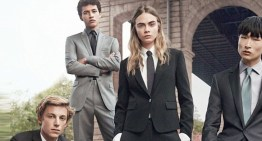 Cara Delevingne Butches It Up For New DKNY Menswear Campaign