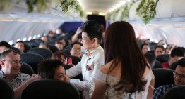 Vietnamese Lesbian Couple Hold Valentine's Day Wedding On Airplane