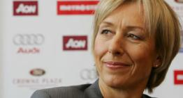 Martina Navratilova Responds to Homophobic Comments By Ukrainian Tennis Player