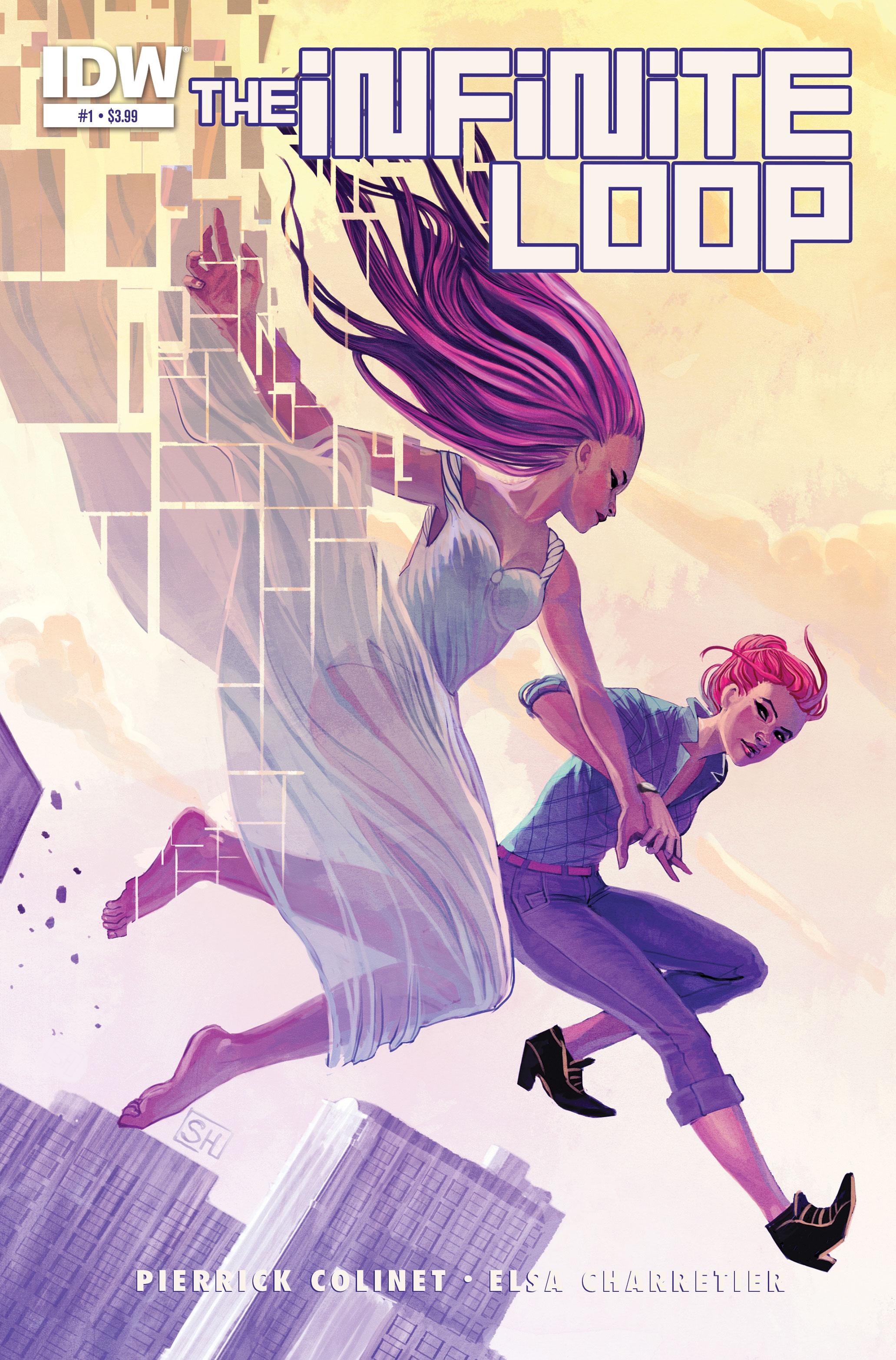Sci-Fi Comic Infinite Loop 01