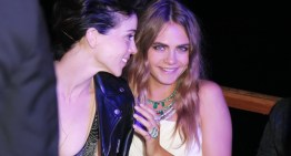 Cara Delevingne Debuts Pink Hair As She Supports Girlfriend Gig in Montreal