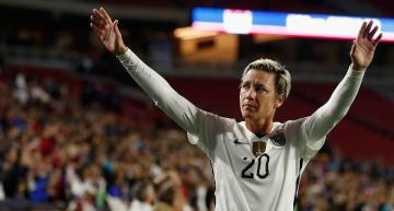 Abby Wambach's Touching Goodbye Message Is Simple: 'Forget Me' (Video)