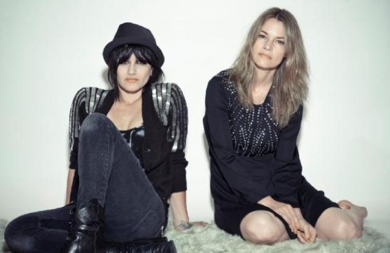 Leisha Hailey and Camila Grey