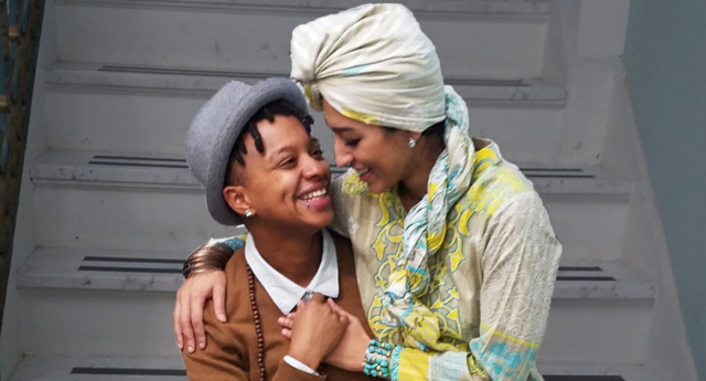 Queer Muslim Couple Marry To Protect Their Family Rights And Send A Powerful Message Of Love To Trump