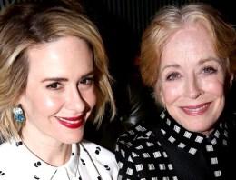 Holland Taylor Calls Relationship With Sarah Paulson 'Wonderful Love'