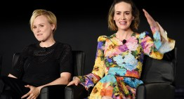 Are Sarah Paulson And Alison Pill The Newest 'American Horror Story' Lesbian Power Couple?