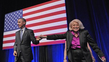 President Barack Obama Pays Tribute To Edith Windsor