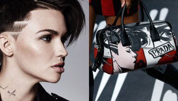 Ruby Rose Accuses Prada of Using Her Face Without Her Permission