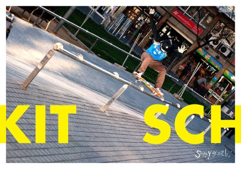 SPRING/SUMMER 2013 Kitsch Skateboard