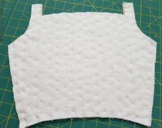 Bodice back exterior