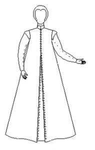 Elizabethan Comfort Gown