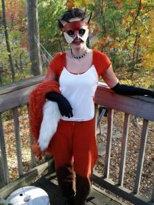 Pet Fox Costume