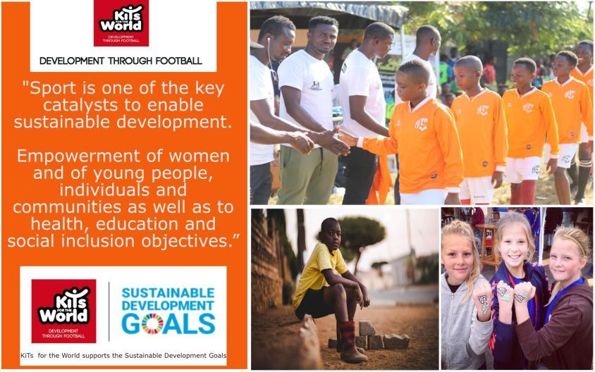 Sustainable Development Goals through development through football