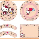 Decoración de Hello Kitty: Imprimibles gratis