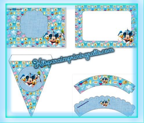 Kit de Mickey y amigos