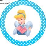 Etiquetas Stickers de Cinderella