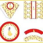 Imprimibles de Blancanieves para decoración