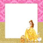 Kit Imprimible de Princesa Bella para Descargar Gratis