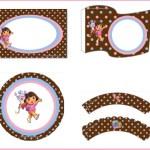 Imprimibles de Dora La Exploradora para descargar gratis