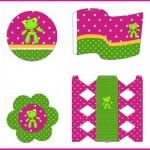 Decoración del Sapo Pepe para niñas: Kit para imprimir gratis