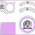 Kit de Princesa Ariel para descargar gratis