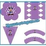 Decoración de Mickey para niñas: imprimibles gratis