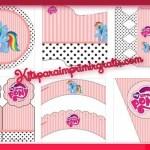 Kit imprimible de Mi Pequeño Pony para descargar gratis