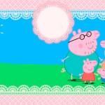 Etiquetas de Peppa y George Pig