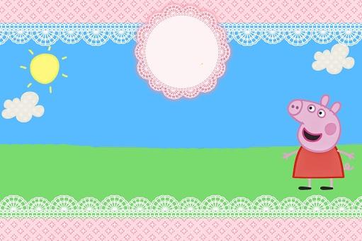 Etiquetas de Peppa Pig
