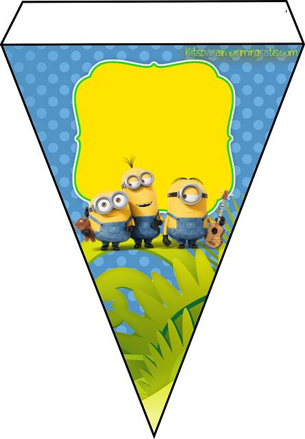 Banderines de los Minions