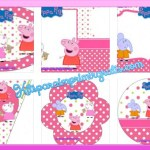 Kit imprimible de Peppa Pig y sus amigos para descargar gratis